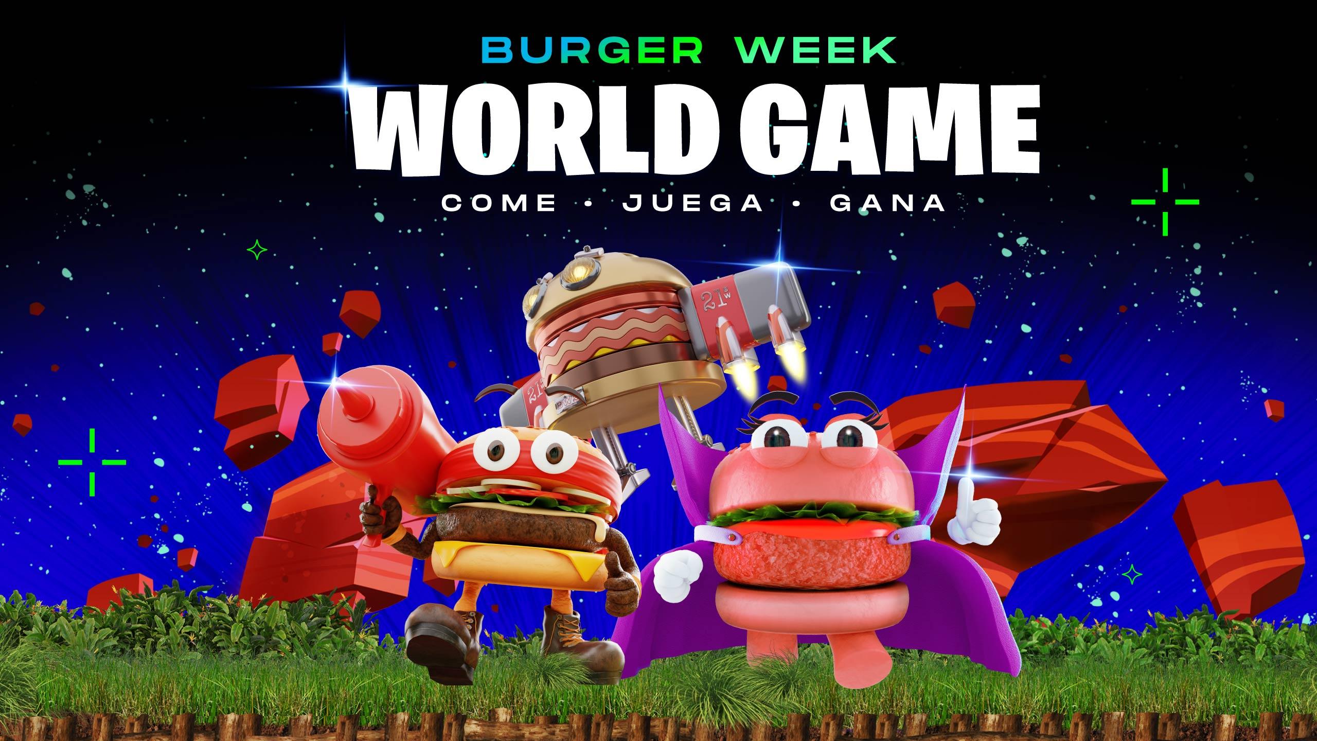 Burger Week World Games